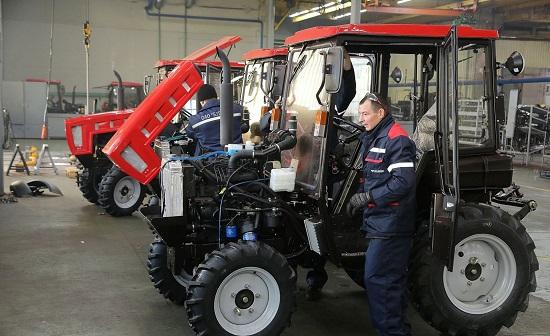 малогабаритные трактора мтз от БЗТДиА
