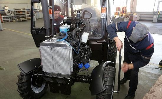 сборка белорусских тракторов БЗТДИА