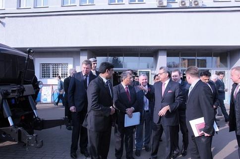 Минский тракторный завод расширяет сотрудничество с Пакистаном