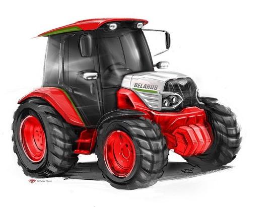 оцените прототип нового трактора МТЗ