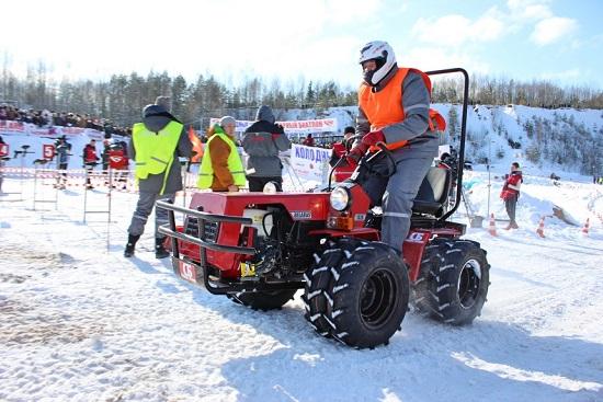 МТЗ организовал первый в мире тракторный биатлон