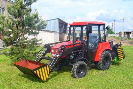 Трактора МТЗ получили хорошие оценки на выставке «День поля».