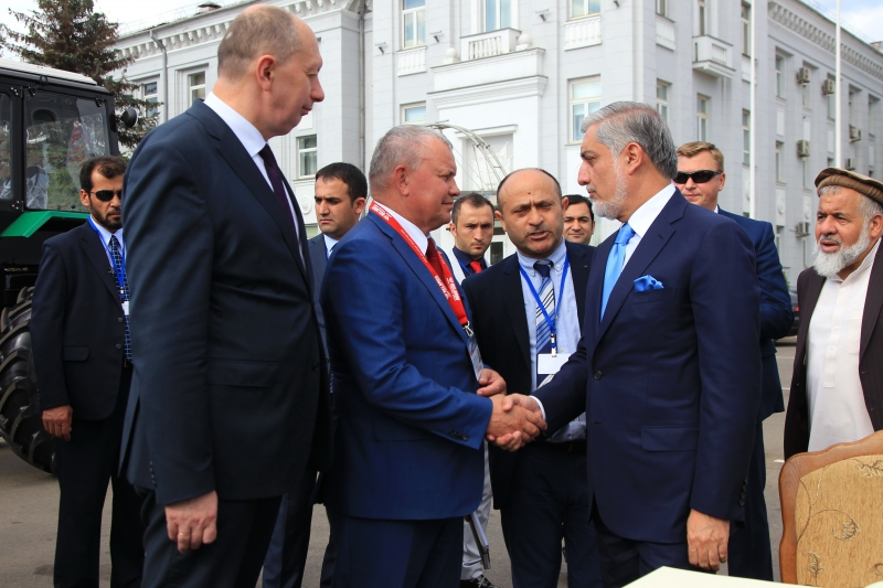 МТЗ посетила делегация из Афганистана