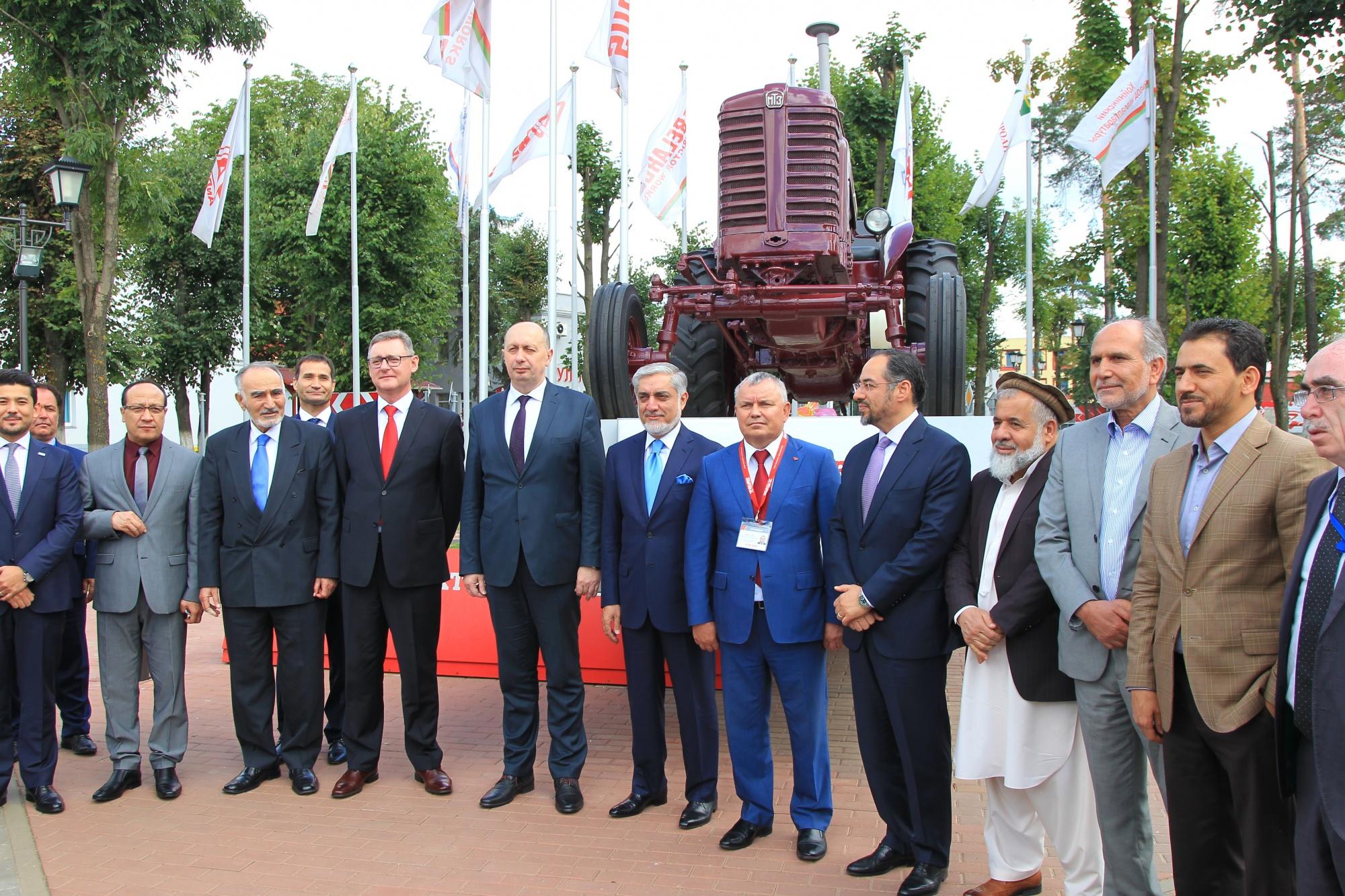 Делегация Афганистана на МТЗ