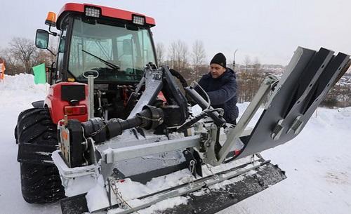 Минский тракторный завод будет выпускать ратраки.