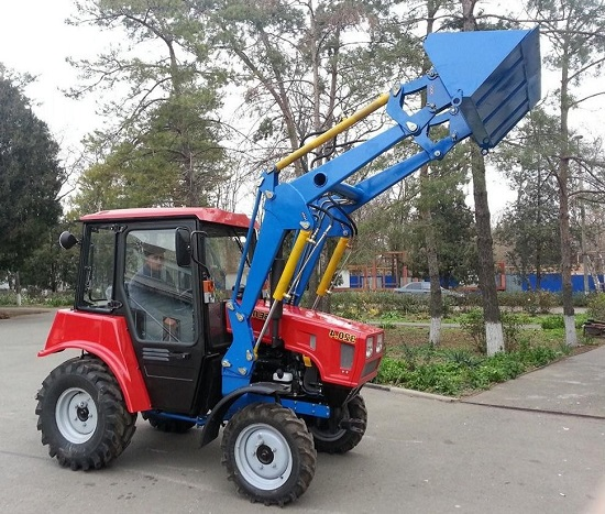 Обзор МТЗ 320.4 устройство трактора