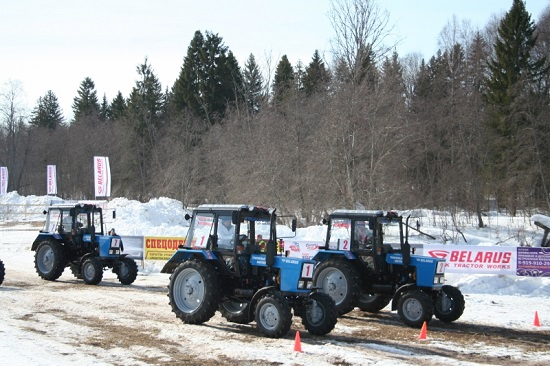 Тракторный марафон в Удмуртии