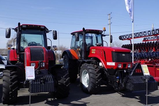 Белорусские трактора показали на Кировской «АгроВятке»