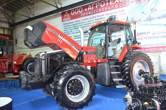 Презентация тракторов МТЗ на выставке «Агроунивесал-2018»