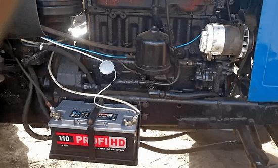 Аккумулятор МТЗ – инструкция по обслуживанию