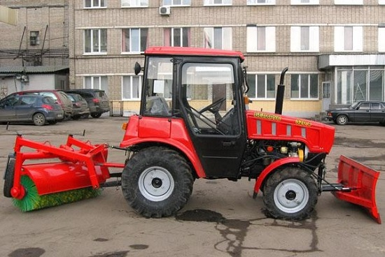 обзор трактор мтз 320