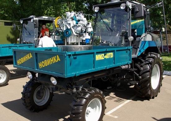 двигатели ммз и тракторы