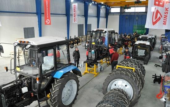 Завод белорусских тракторов
