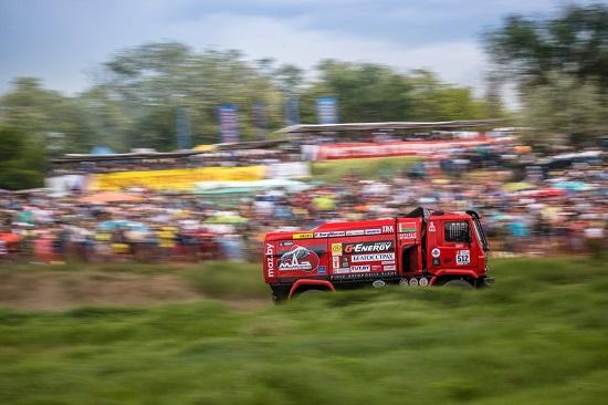 МАЗ на гонках тракторов в Ростове