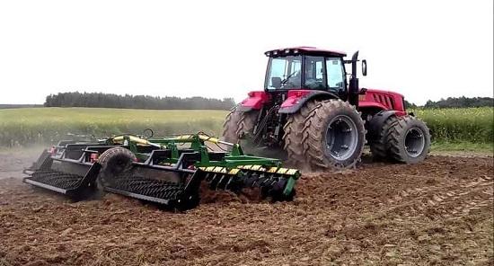 Изменение колеи трактора – как правильно отрегулировать?