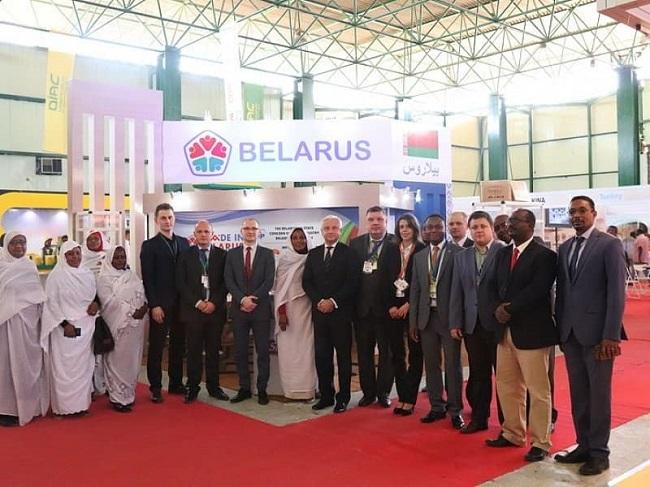 МТЗ на выставке Sudan Agrofood