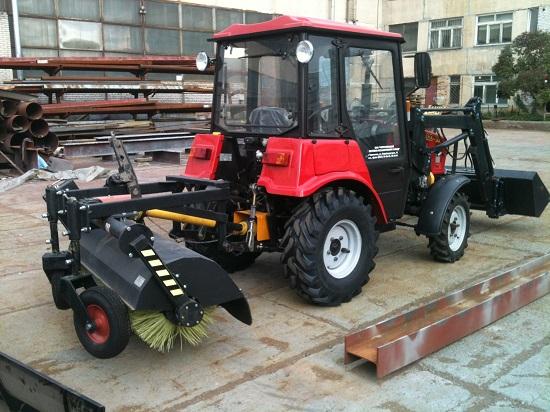мини трактор мтз 320