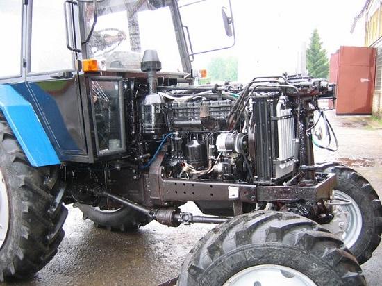 ремонтируем трактора мтз