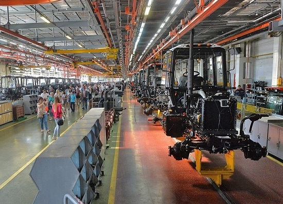 производство тракторов МТЗ