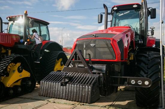 мтз разработал новый трактор