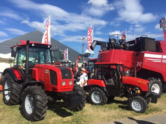 выставка белорусских тракторов в бельгии
