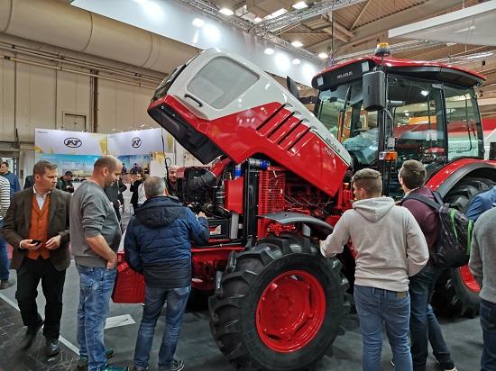 Минский тракторный завод принял участие в выставке «AGRITECHNICA-2019».