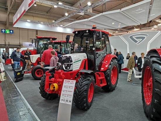 Минский тракторный завод на выставке «AGRITECHNICA-2019».