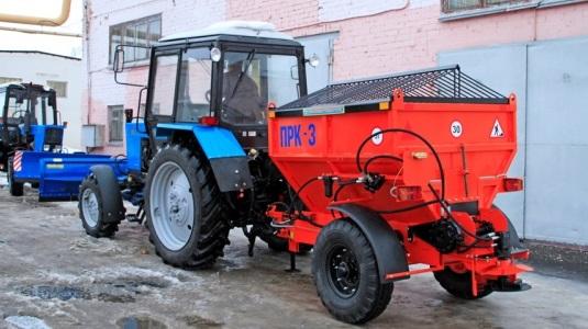 навеска трактора мтз