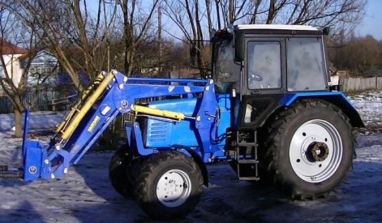навеска мтз для трактора