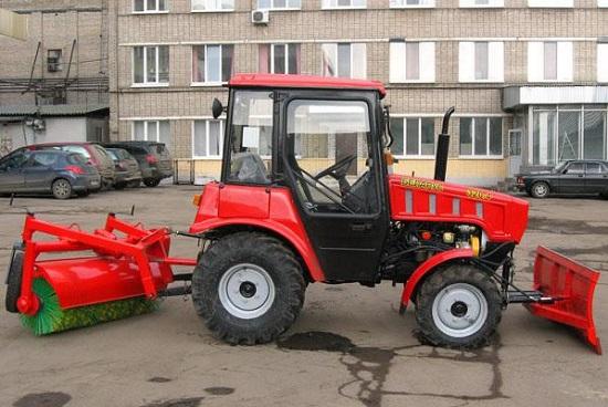 устанавливаем навесное для трактора МТЗ