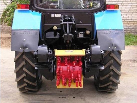 Обзор трактора МТЗ 100