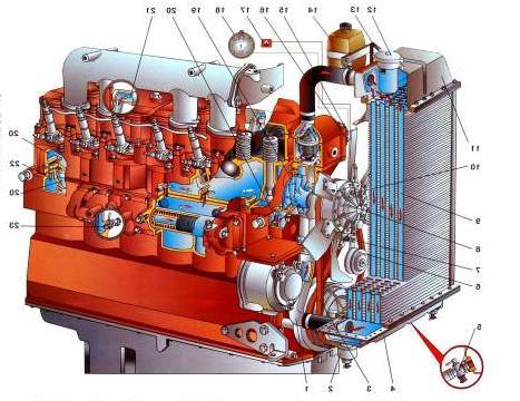 Система охлаждения мтз 80 схема фото 950