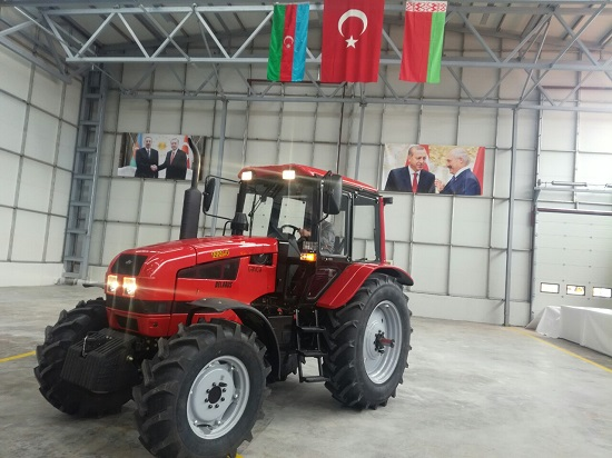 В Турции готовятся к выпуску техники BELARUS