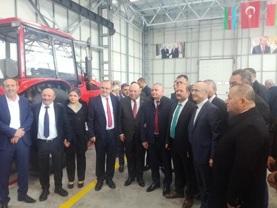 В Турции скоро откроется еще один завод по сборке тракторов МТЗ.