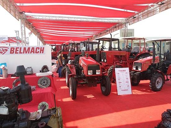 Минский тракторный завод на выставке «Сахара-2018».