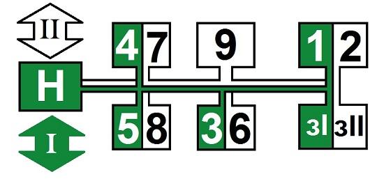 схема переключения коробки передач мтз 80