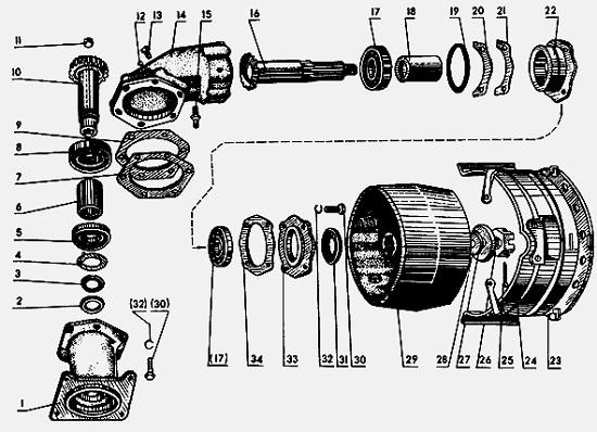 Замена шкивов коленвала МТЗ 80 82 - советы по ремонту трактора здесь.