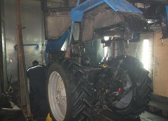 ТО 1 и ТО 2 тракторов МТЗ