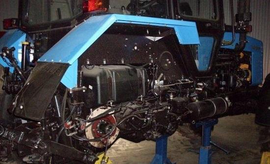 техническое обслуживание трактора мтз 80