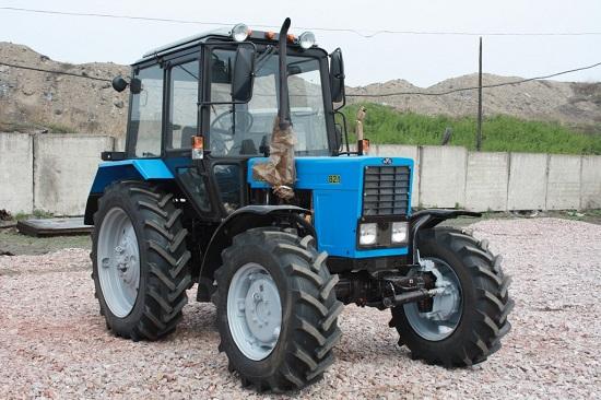 ТО трактора мтз 80