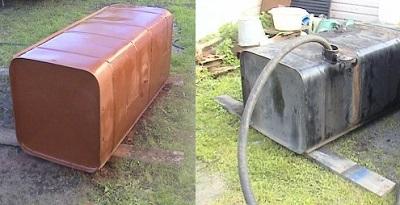ремонт топливного бака маз