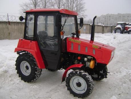 обзор трактора беларус 320 4