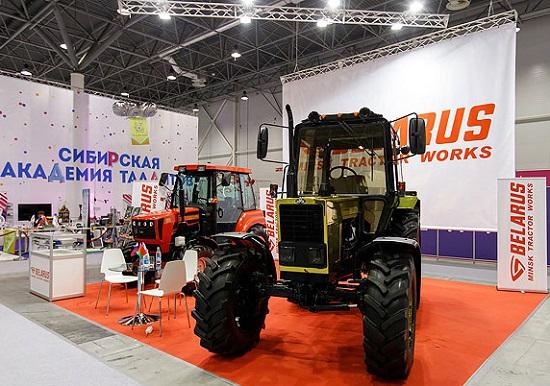Золотой трактор МТЗ на вставке техпром 2018