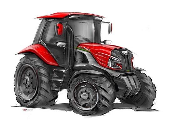 Взгляд в будущее – оцените прототип нового трактора МТЗ!