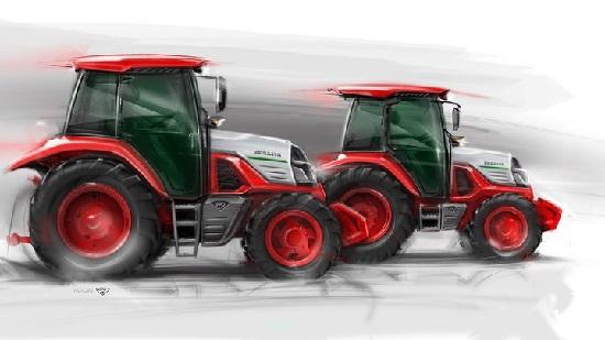 МТЗ разработал новый дизайн трактора