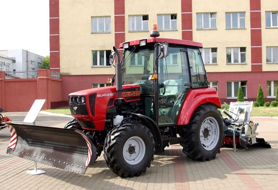 Тест-драйв тракторов МТЗ для уборки снега