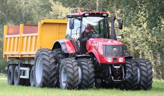 В Беларуси наращивают выпуск тракторов