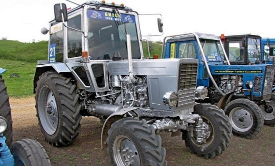 Тюнинг кабины МТЗ - примеры модернизации и фото тракторов.