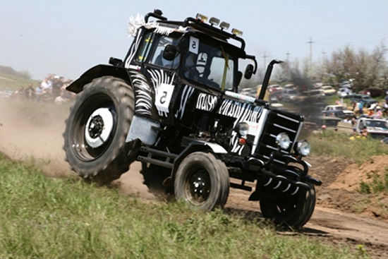 Тюнинг МТЗ 80, 82 – модернизация кабины трактора