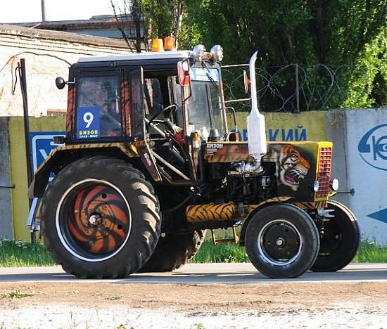 Тюнинг трактора МТЗ – обзор решений
